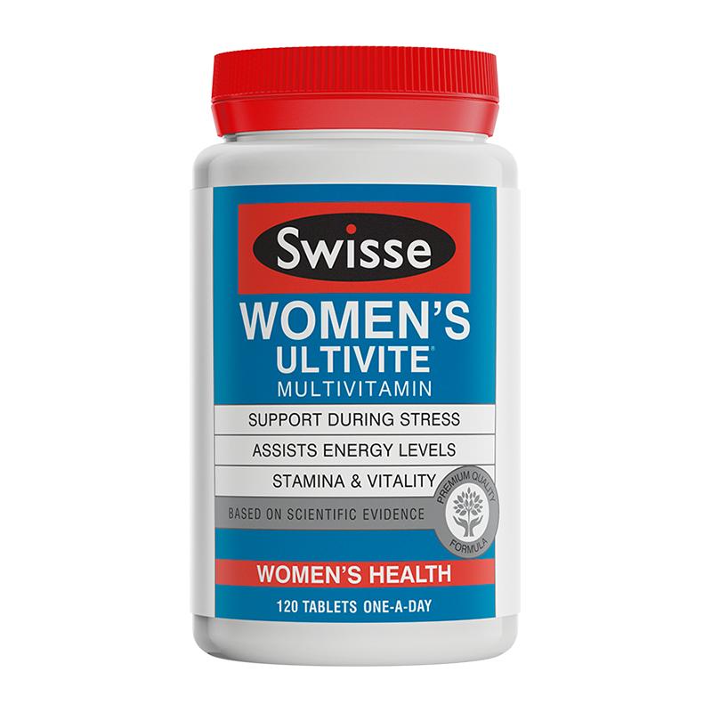 【直邮】Swisse/瑞思 女士复合维生素片--120片