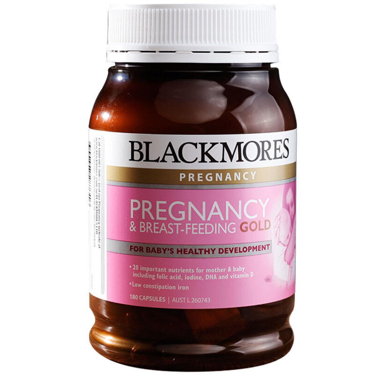 【直邮】Blackmores孕妇哺乳黄金素