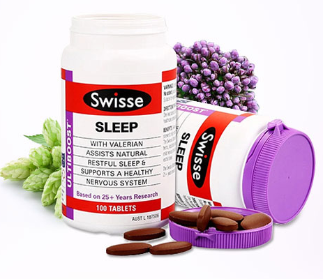 【直邮】Swisse sleep安定睡眠片100片