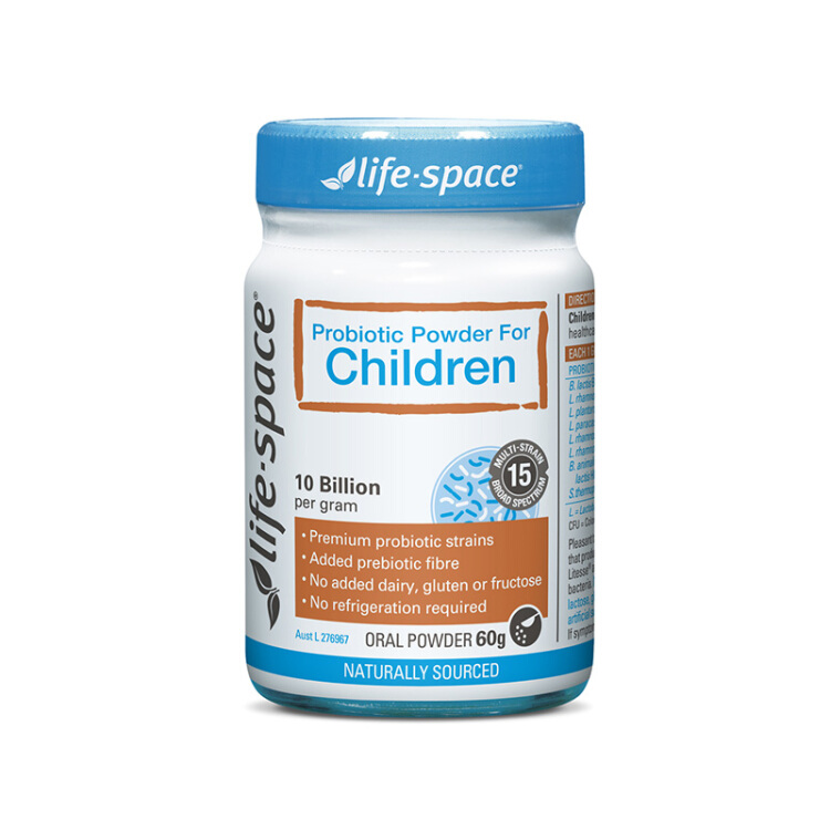 【直邮】life space儿童益生菌粉(Children)60g