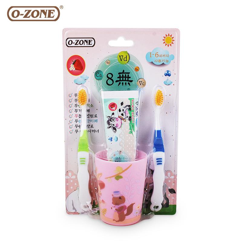【直邮】O-ZONE/欧志姆 长牙呵护儿童套装60g