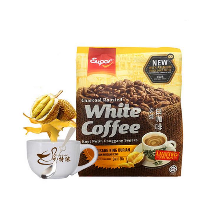【直邮】三合一猫山王榴莲口味白咖啡