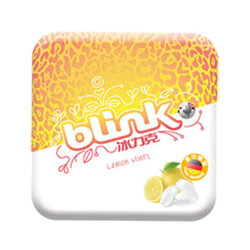 【直邮】冰力克纯果粉无糖含片(柠檬覆盆子)