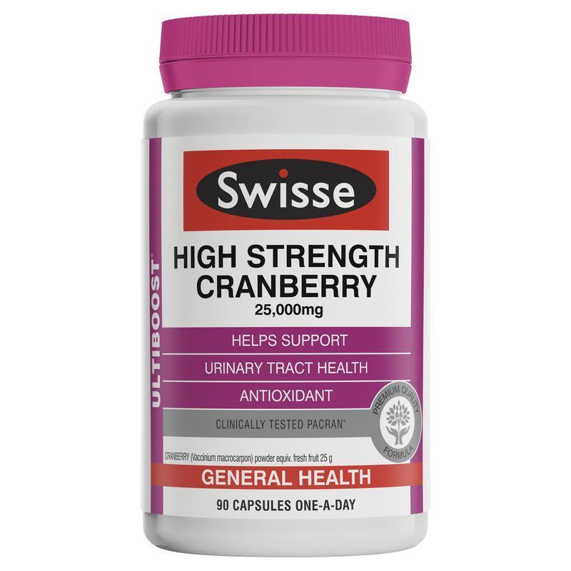【直邮】Swisse 中蔓越莓胶囊90粒