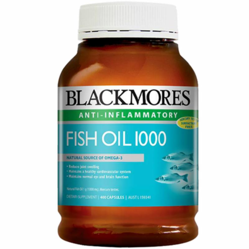 【直邮】Blackmores原味深海鱼油400粒