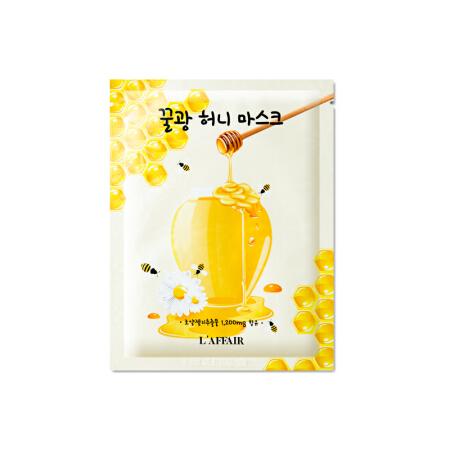 【直邮】韩国 Laffair/彩虹春雨蜂蜜贴片10片