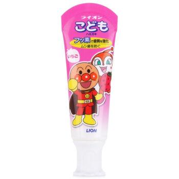 【直邮】日本 LION/狮王 面包超人儿童牙膏 40g
