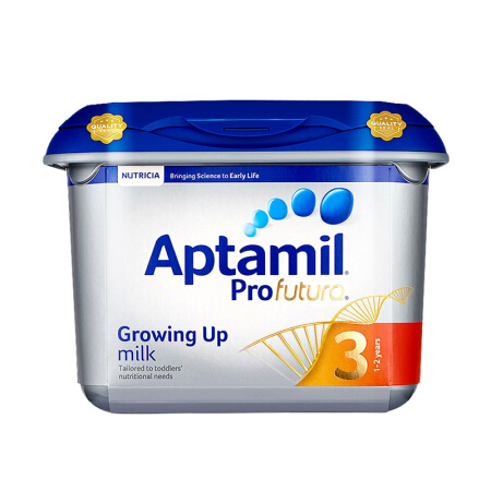 Aptamil/英国爱他美白金版 婴幼儿配方奶粉(2罐装)