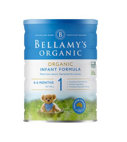 【直邮】Bellamy's/贝拉米 有机奶粉(6罐装)